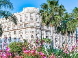 Croisette Palais Miramar Cannes Imperial, hotel near Casino Cannes Le Palm Beach, Cannes