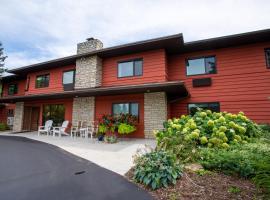 Open Hearth Lodge, hôtel à Sister Bay