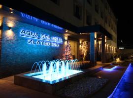 Aqua Hotel Zlatograd, hotel with parking in Zlatograd