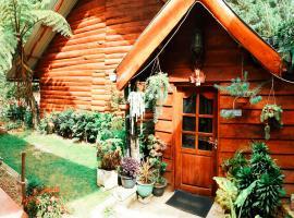 Moon Plains Forest Log, cabin in Nuwara Eliya