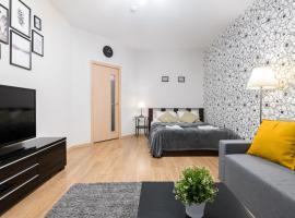 One Bedroom Great View Apartment-Однокомнатная квартира у Газпром Арены, hotel in Saint Petersburg