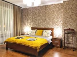 Apartment on Gazetnyy pereulok 1-12, hotel near Lenin Mausoleum, Moscow