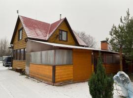Дом 96 м² с сауной, hotel near Salaryevo Metro Station, Salar'yëvo