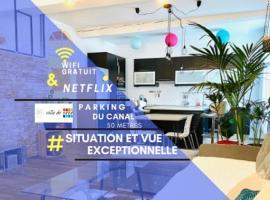 MAGNIFIQUE APPART 102 m2 ART/DÉCO AU BORD DE L'EAU, apartment in Sète
