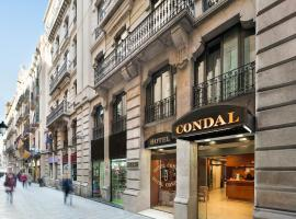 Hotel Condal, hotel in Barcelona