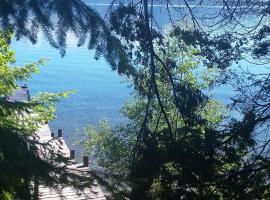 Cabañas con costa al lago, Kalfulafquen, hotel cerca de Isla Victoria, Villa La Angostura