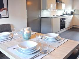 FourRooms Luxury 4 Bedroom Penthouse, hotel in Leamington Spa