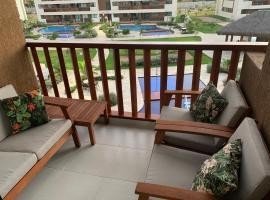 Flat Extraordinário Beira Mar Condomínio Cupe Beach Living, accessible hotel in Porto De Galinhas