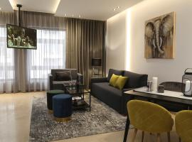 ZH Luxury Suites City Center view, apartment in Thessaloniki