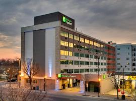 Holiday Inn Express Washington DC Silver Spring, hotel near Walter Reed Reed National Military Medical Center, Silver Spring