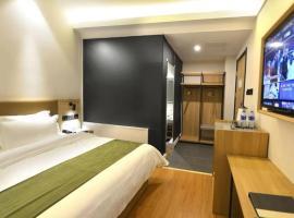GreenTree Inn Qinghuangdao Shanhaiguan Railway Station Select Hotel, hotel in Qinhuangdao