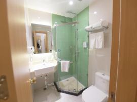 GreenTree Inn Zhengzhou Fangte Green Expo Park Shangdu Road Express Hotel, hotel in Zhengzhou