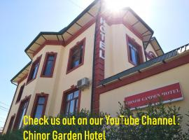 Chinor Garden Hotel (Free airport transfers and more), отель в Ташкенте
