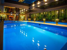 Srebrny Bucznik Wellness & Restauracja – hotel w pobliżu miejsca Wyciąg narciarski Mały Rachowiec w Istebnej