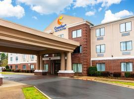 Comfort Inn & Suites, hotel in Pine Bluff