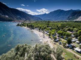 Campeggio Conca D'Oro, resort village in Baveno