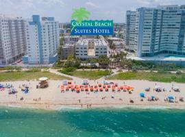 Crystal Beach Suites Oceanfront Hotel, отель в Майами-Бич
