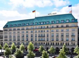 Hotel Adlon Kempinski Berlin, hotel near Brandenburg Gate, Berlin