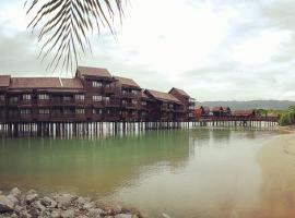 The lagoon water resort