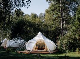 Daydream Forest Glamping and Snow Hotel, family hotel in Listvyanka