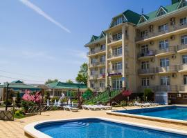 Pansionat Kristall Uyut, hotel with jacuzzis in Anapa