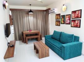 EXHO 4 Sea Esta Holiday Homes, Colva, Goa, hotel near Verna Industrial Estate, Colva