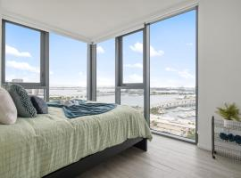 Modern Two Bedroom Near Brickell with Amazing View, apartment in Miami