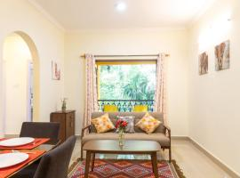 2 Bedroom Apartment with Pool in Candolim, Casa Stay, apartment in Candolim
