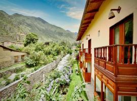 Sol Ollantay Exclusive Hotel, hotel in Ollantaytambo