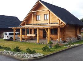 Jafura LM, hotel poblíž významného místa Liptovská Mara, Liptovský Trnovec