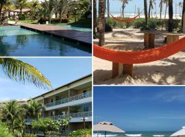 Paraíso das Dunas - Pé na areia - Apartamento família!, hotel near Porto das Dunas Beach, Aquiraz