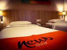News Hotel by Graha Pena Jawa Pos, hotel near Juanda International Airport - SUB, Waru