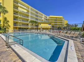 Marco Island Condo with Patio Steps to Beach Access, beach hotel in Marco Island