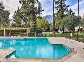 Resort Apt in Heart of Palm Springs w/Pools+Tennis, apartment in Palm Springs