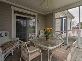 Luxury Bethany Beach Condo with Pool on Golf Course, apartment in Ocean View