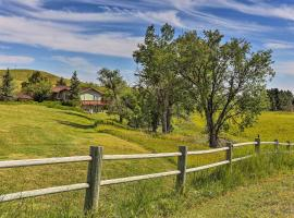 Rapid City House with Deck on Private 150-Acre Estate, vacation rental in Rapid City