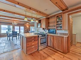 Custom Guemes Home with Spectacular Water Views!, hotel in Anacortes