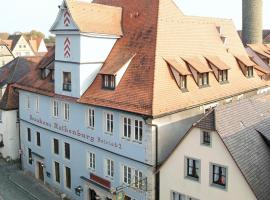 Hotel Altes Brauhaus, hotel in Rothenburg ob der Tauber