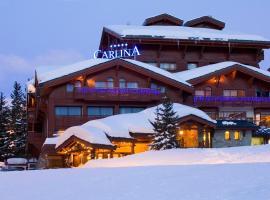 Hotel Carlina, отель в Куршевеле