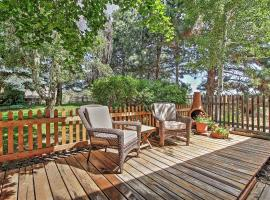 Cozy Bend Studio Apt with Fireplace on 5 Lush Acres!, vacation rental in Bend