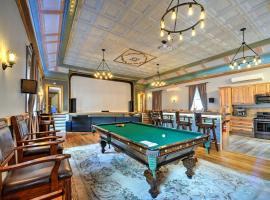 Restored Firehouse with Theater and Private Lake Access, hotel in Windham
