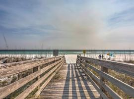 Sleek Pensacola Beach Condo with Patio-Walk to Beach!, apartment in Pensacola Beach