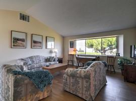 3BR Sequim Condo with View - Walk to Private Beach!, hotel in Sequim