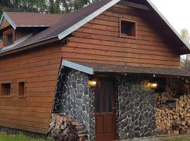 Chata pod skalou, dovolenkový dom v destinácii Valaská