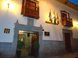 Hotel San Francisco Plaza, hotel with jacuzzis in Cusco
