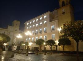 Hotel de Francia y París, hotel en Cádiz