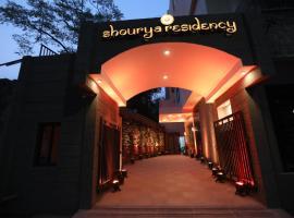 Shourya Residency Gulab Bagh, accessible hotel in Udaipur