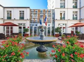 Hotel Vacances Bleues Villa Modigliani, hotel near Saint-Jacques Metro Station, Paris