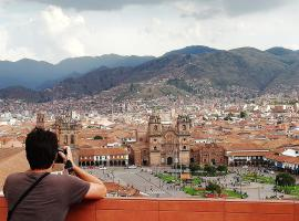 Eco Home View - Resbalosa, hostel in Cusco