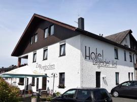 Hotel Laufelder Hof, hotel in Laufeld